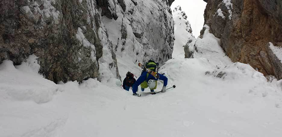Ski Mountaineering in Cortina d'Ampezzo