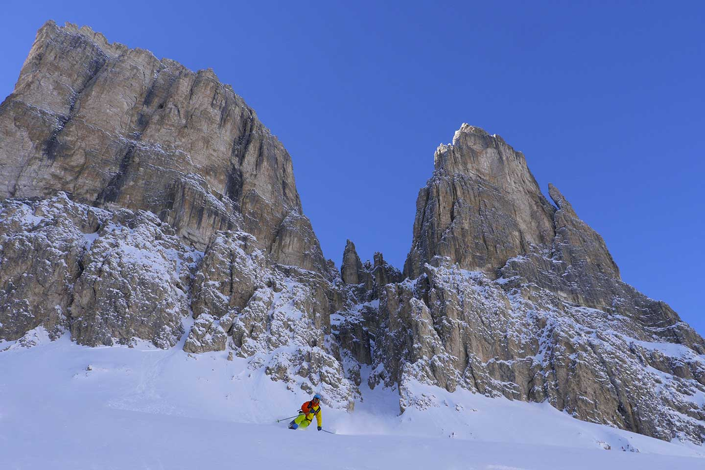 Sella Off-piste Skiing