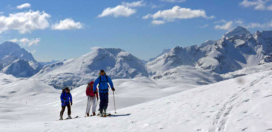 Two Days Ski Mountaineering at Fanes Alp