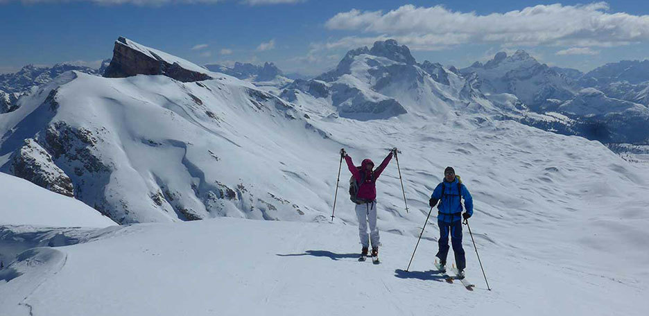 Two Days Ski Mountaineering at Sennes Plateau