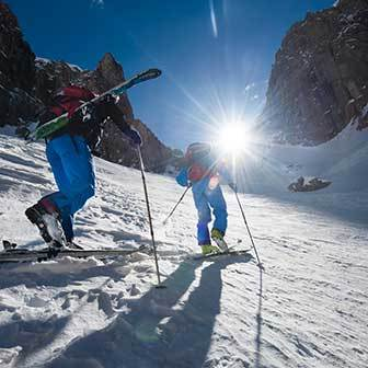 Ski Mountaineering Excursions in Val di Fassa
