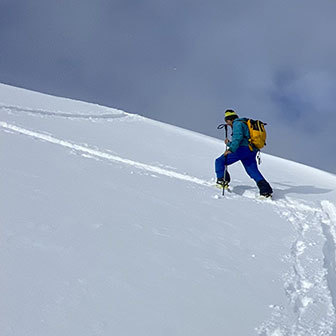 Ski Touring in Aosta Valley to Testa Bernarda