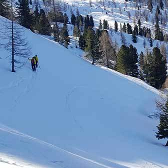 Ski Touring in Courmayeur to Mont Chetif