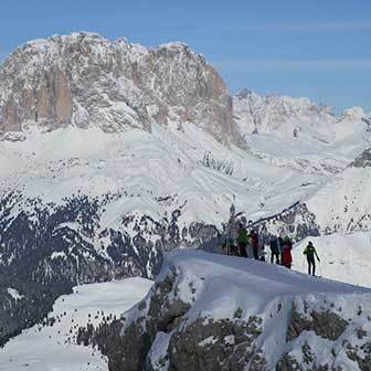 Ski Mountaineering to Cima Undici in Val di Fassa