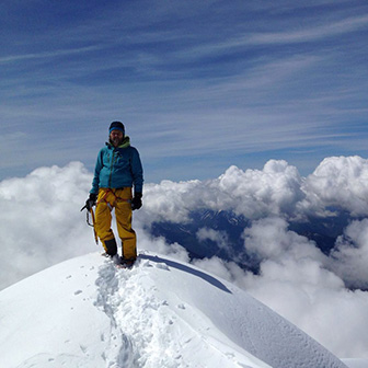Ski Mountaineering to the Top of Antelao Mountain