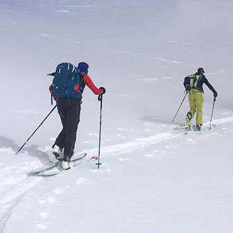 Ski Mountaineering to Monte Blockhaus from Decontra