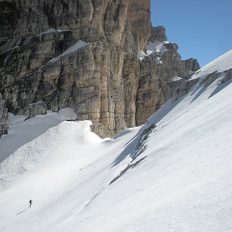 Ski Mountaineering to Cima Brenta