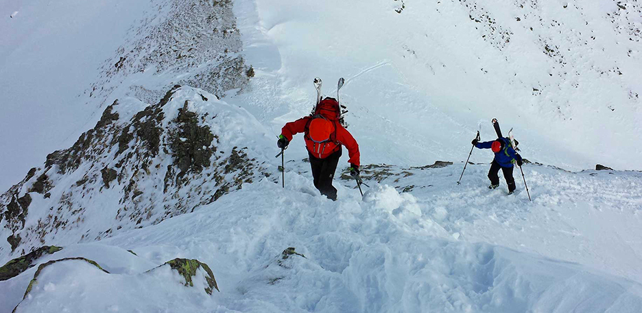 Ski Mountaineering to Monte Alto in Val Casies