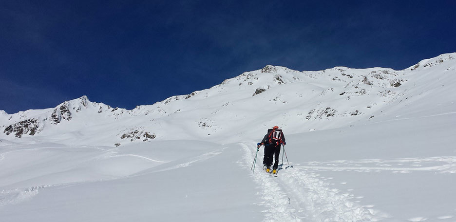 Ski Mountaineering to Monte Lavinarossa in Val Casies