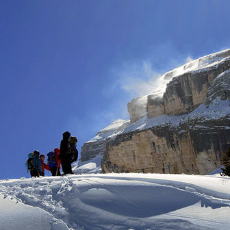 Ski Mountaineering to Monte Castello