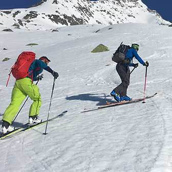 Ski Mountaineering to Mount Ciarforon, West Side