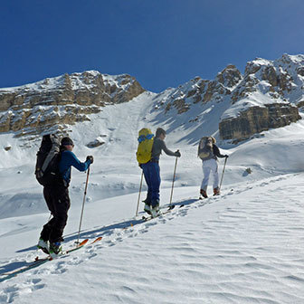 Ski Mountaineering Weekend from Cortina to Braies in the Dolomites