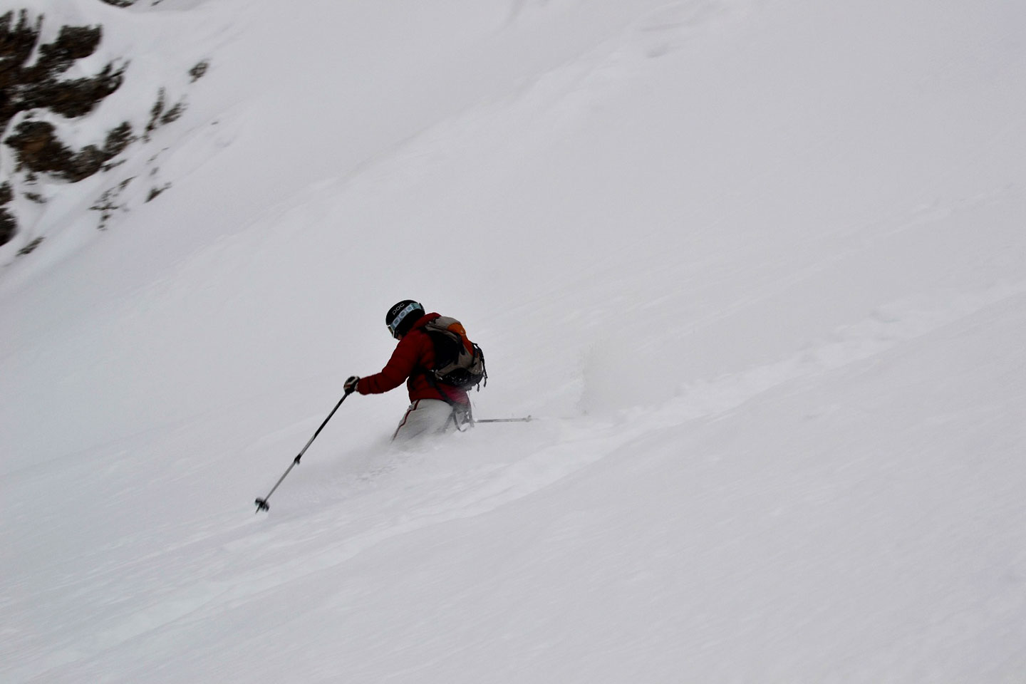 Ski Mountaineering to Creste Bianche at Monte Cristallo
