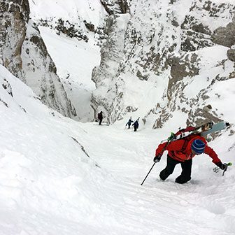 Ski Mountaineering to Cristallino di Misurina