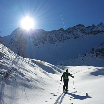 Ski Mountaineering to the Lastoi de Formin