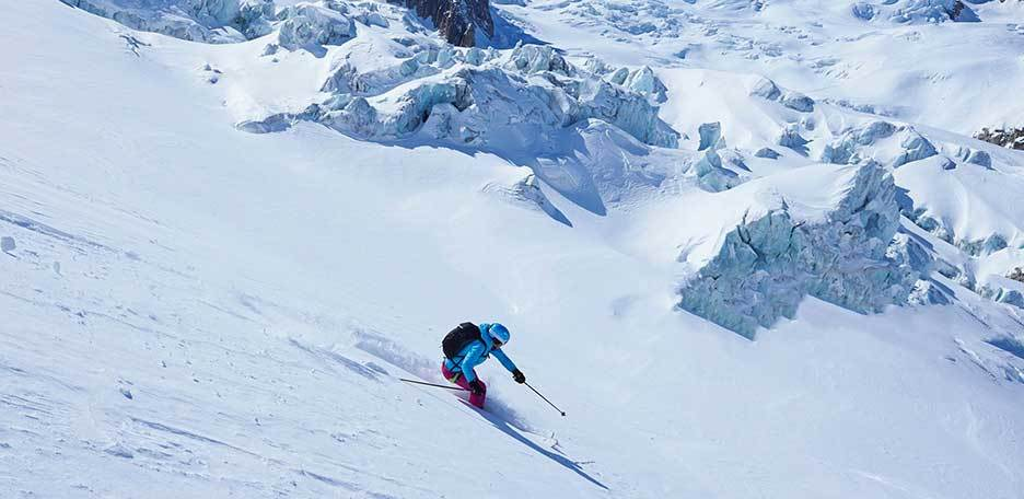 Off-piste Skiing in Chamonix, Freeride to Glacier Rond