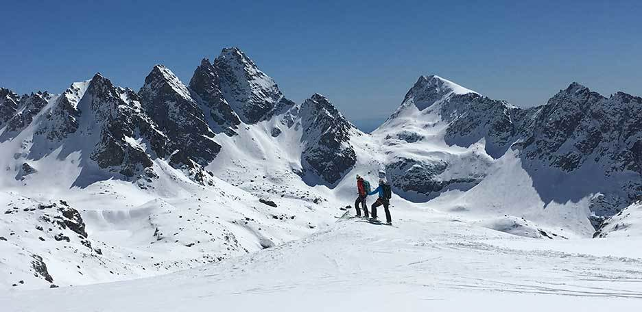 Gran Paradiso Backcountry Skiing, 3-day Trip with Mount La Tresenta