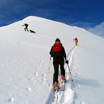 Ski Mountaineering to Cima Lavinores