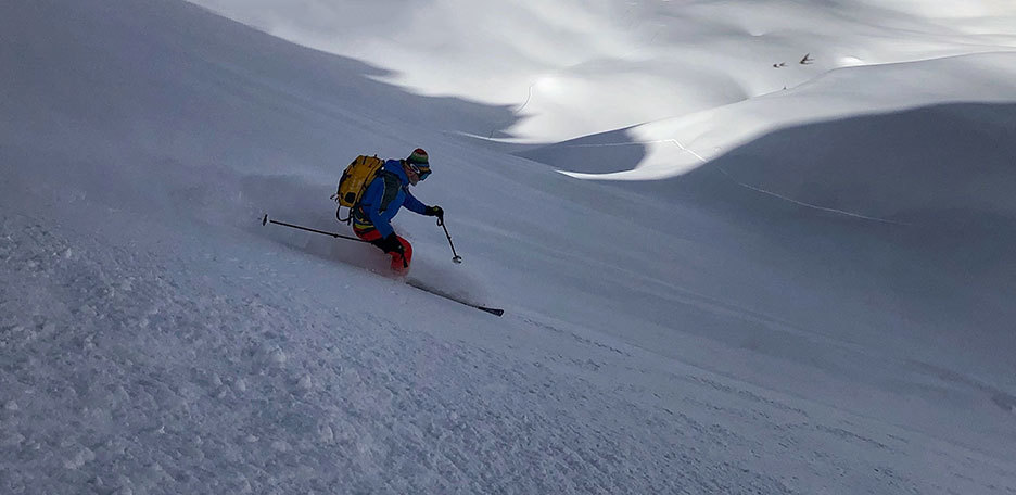 Backcountry Skiing in Livigno, Off-piste Skiing Mottolino