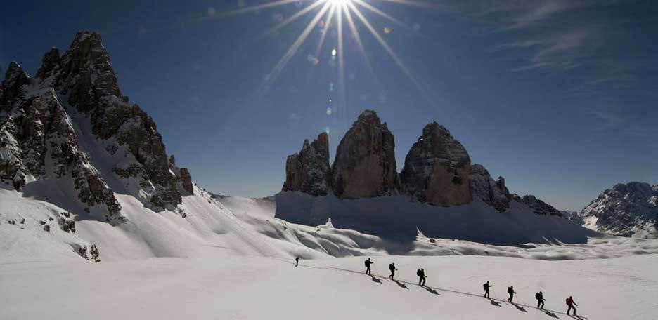 Ski Mountaineering to Sasso di Sesto from Val Fiscalina