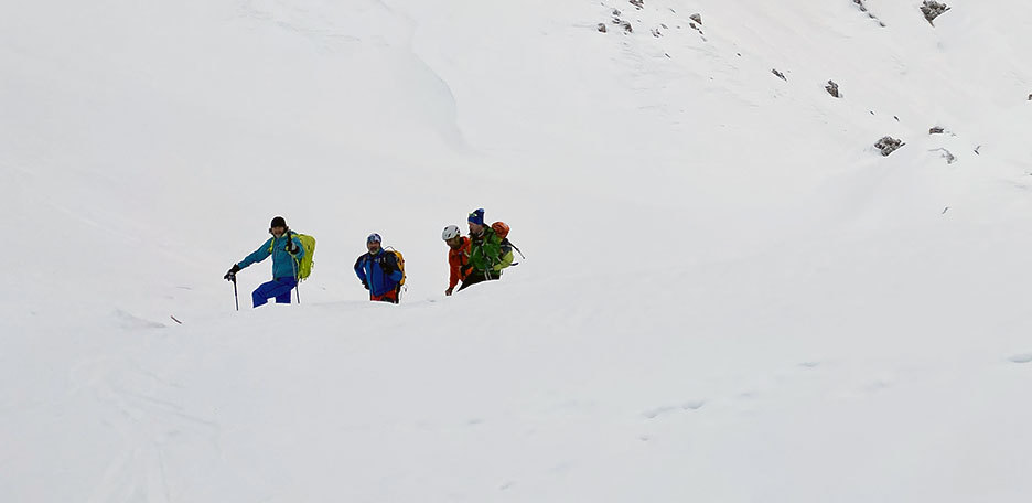 Val Ferret Ski Mountaineering Loop Tour