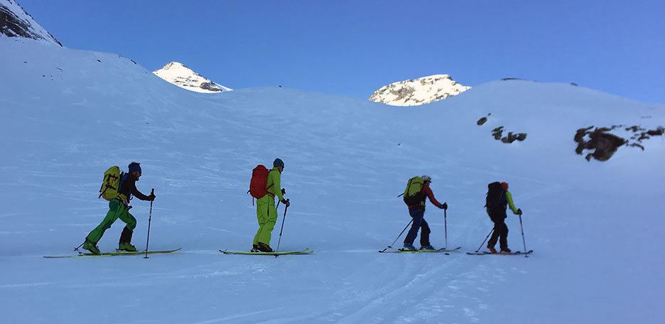 Ski Mountaineering to Monte Magro in Valle Aurina & Tures