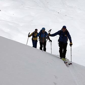 Ski Mountaineering in Val Ferret to Col Malatrà