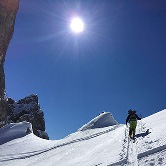 Ski Mountaineering to Forcella Giau and Mondeval