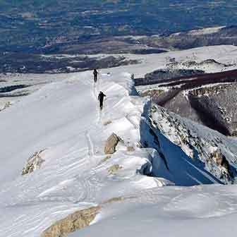 Ski Mountaineering to Monte Pescofalcone