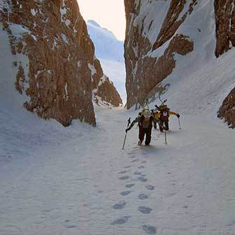 Ski Mountaineering to Monte Popera from Val Fiscalina