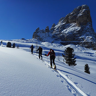 Ski Mountaineering to the Rocchetta di Prendera