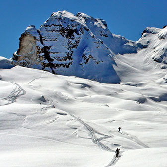 Ski Mountaineering to Cima Roma