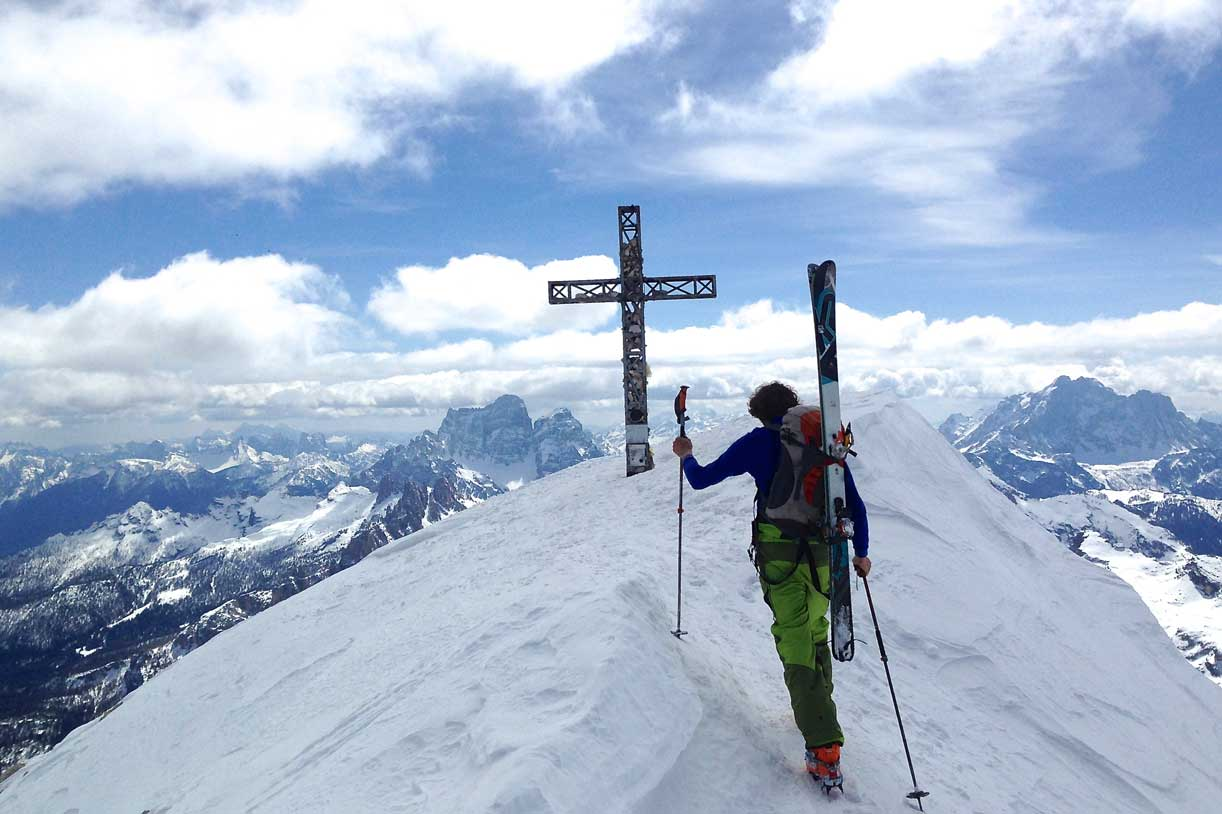 Ski Mountaineering to Tofana di Rozes
