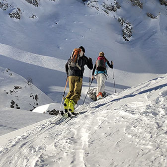 Ski Mountaineering to Mont de la Saxe
