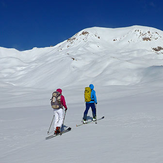Two Days Ski Mountaineering Tour at Sennes Plateau in the Dolomites
