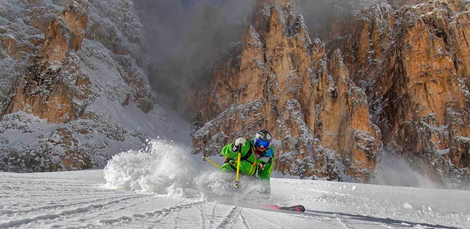 Ski Mountaineering Traverse of the Pale di San Martino