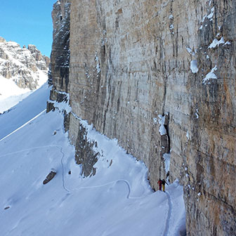 Ski Mountaineering to the Tre Cime di Lavaredo