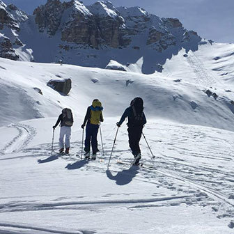 Ski Mountaineering to Picco di Vallandro in the Fanes-Senes-Braies Natural Park