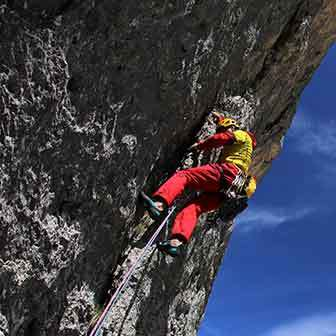 Vinatzer & Messner Climbing Route in Marmolada