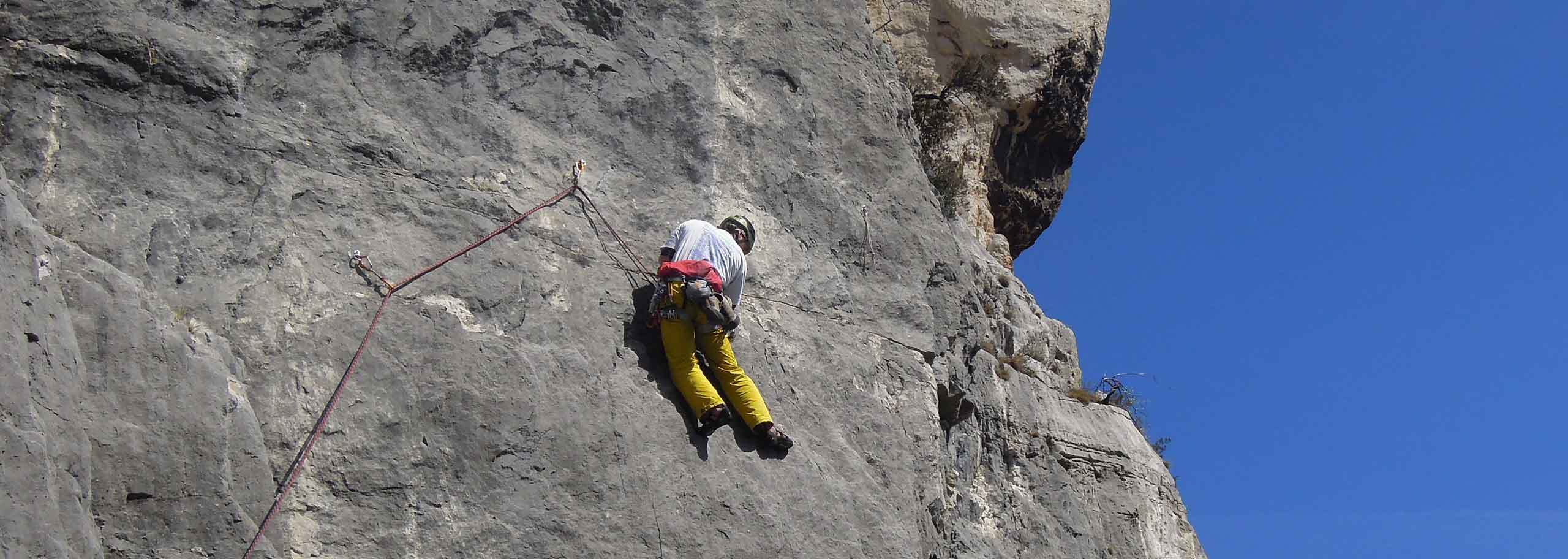 Rock Climbing in Champoluc with a Mountain Guide