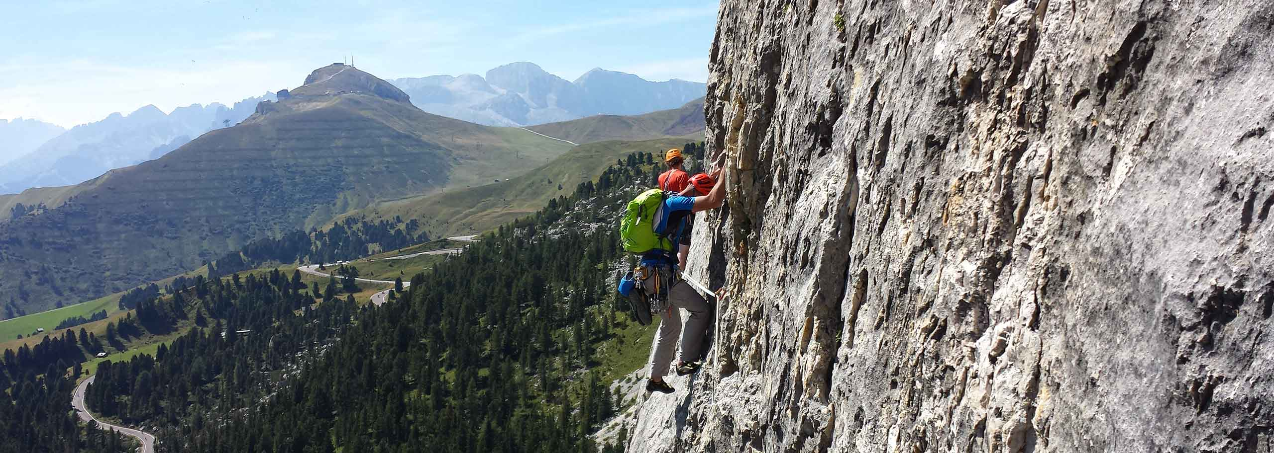 Climbing with a Mountain Guide in Alta Badia