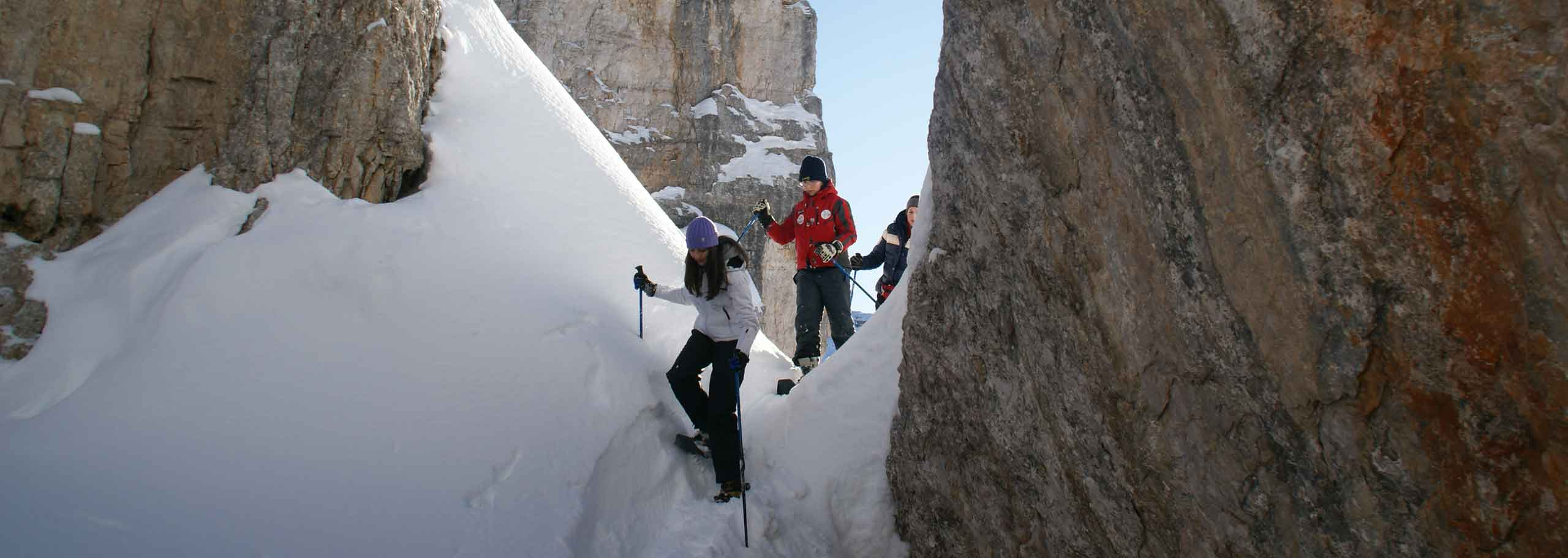 Snowshoeing with a Mountain Guide in San Martino di Castrozza