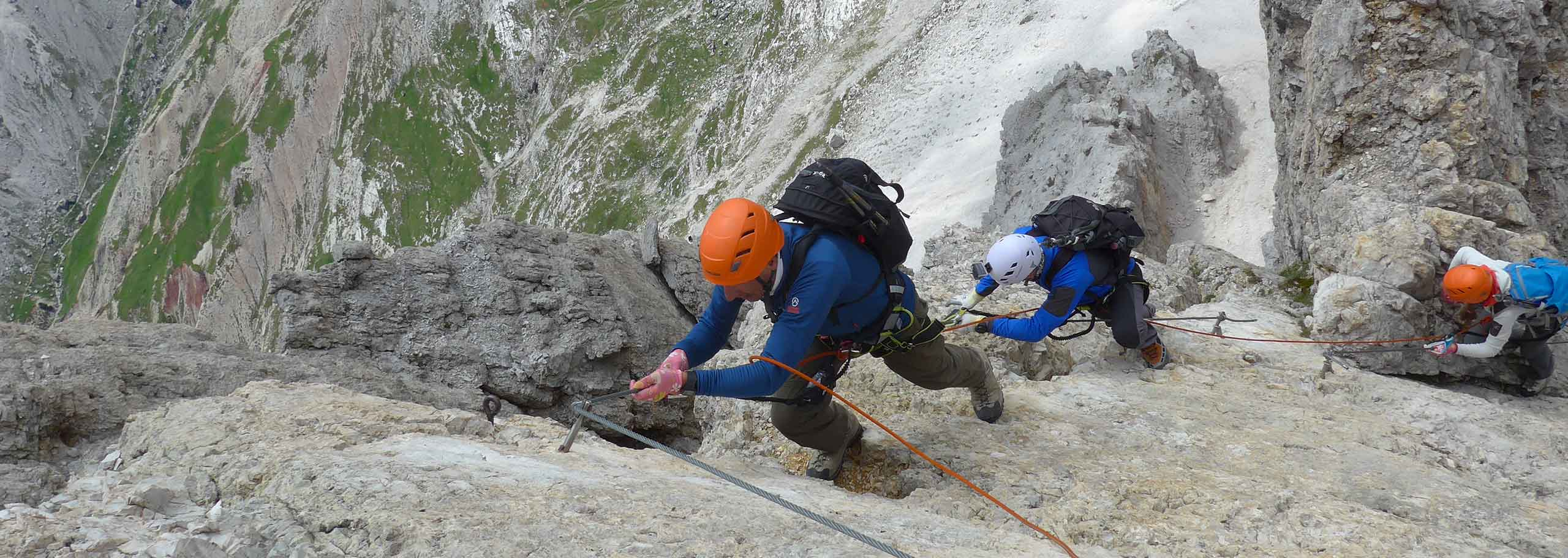 Via Ferrata with Mountain Guide in San Martino di Castrozza