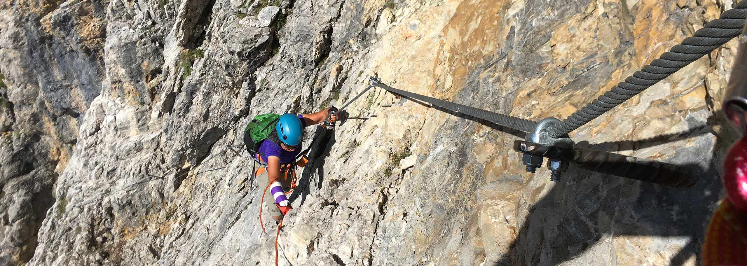 Via Ferrata with a Mountain Guide in Alta Badia