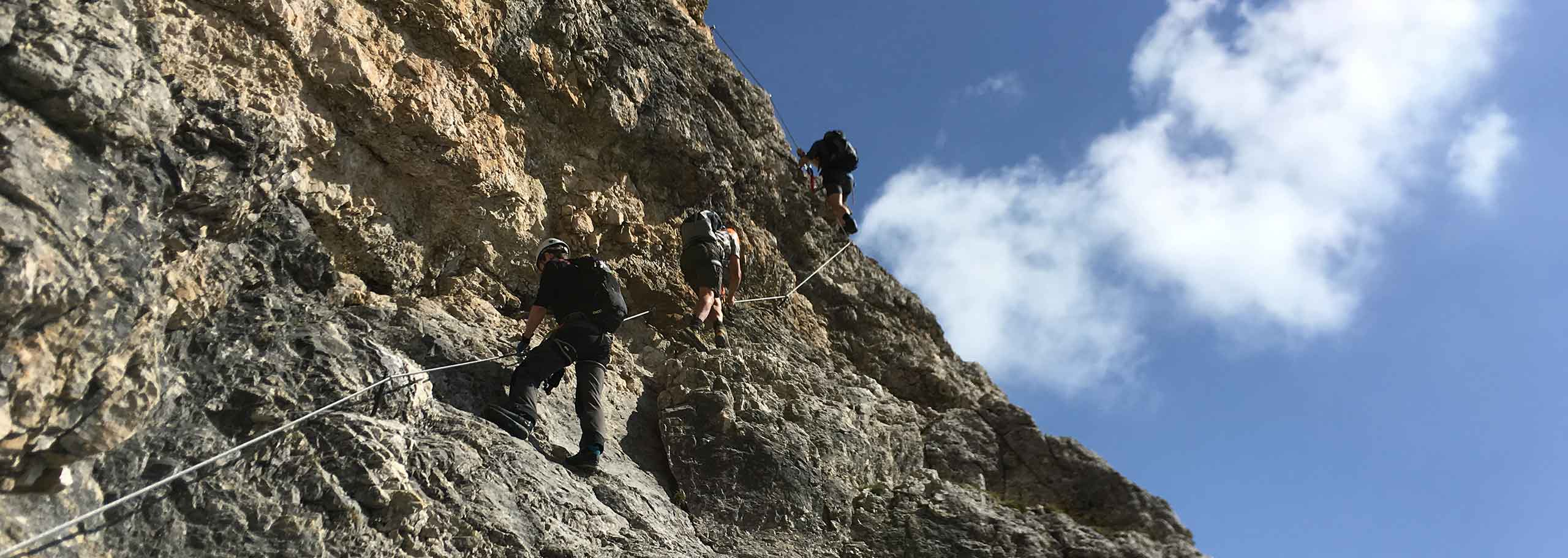 Via Ferrata with Mountain Guide in Val di Fassa
