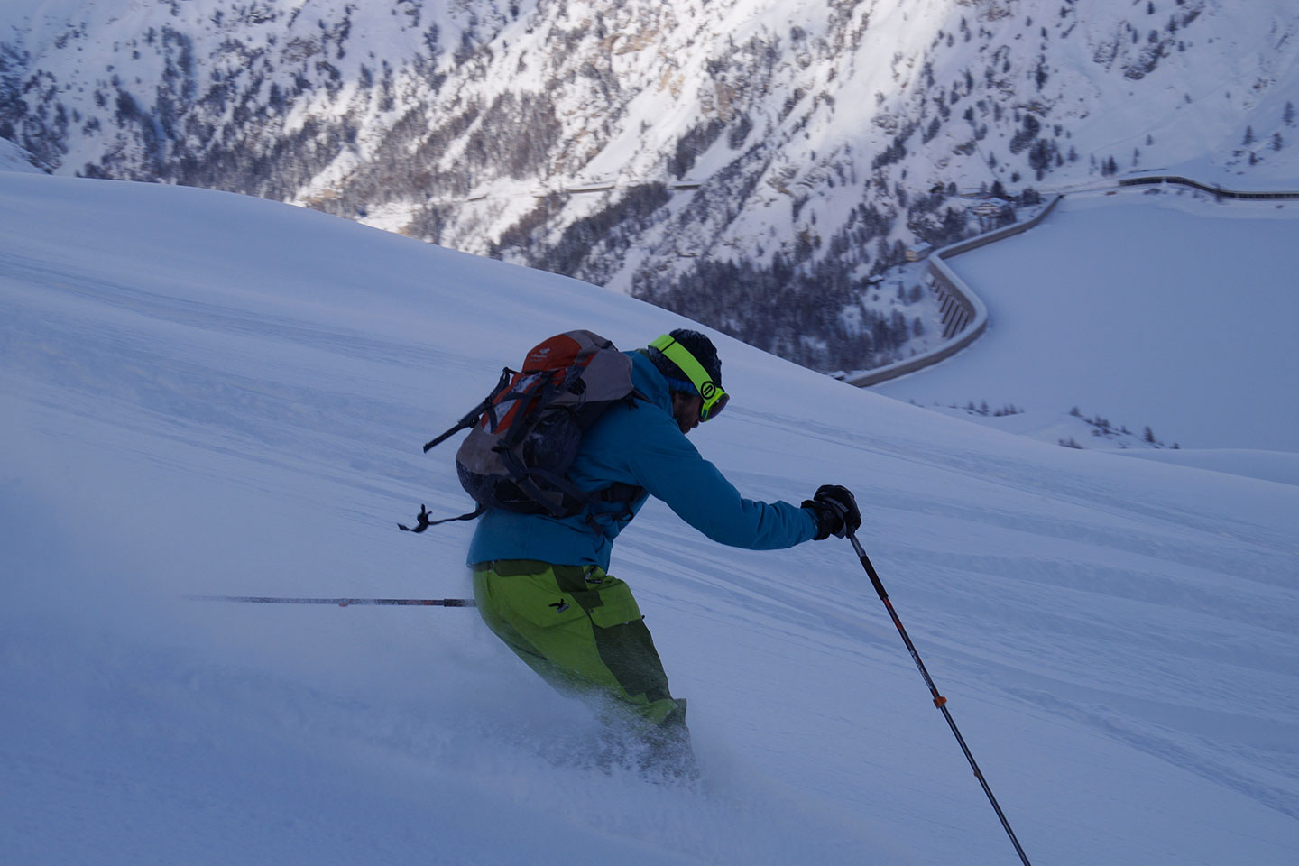 Off-piste Skiing with a Mountain Guide in Val di Zoldo