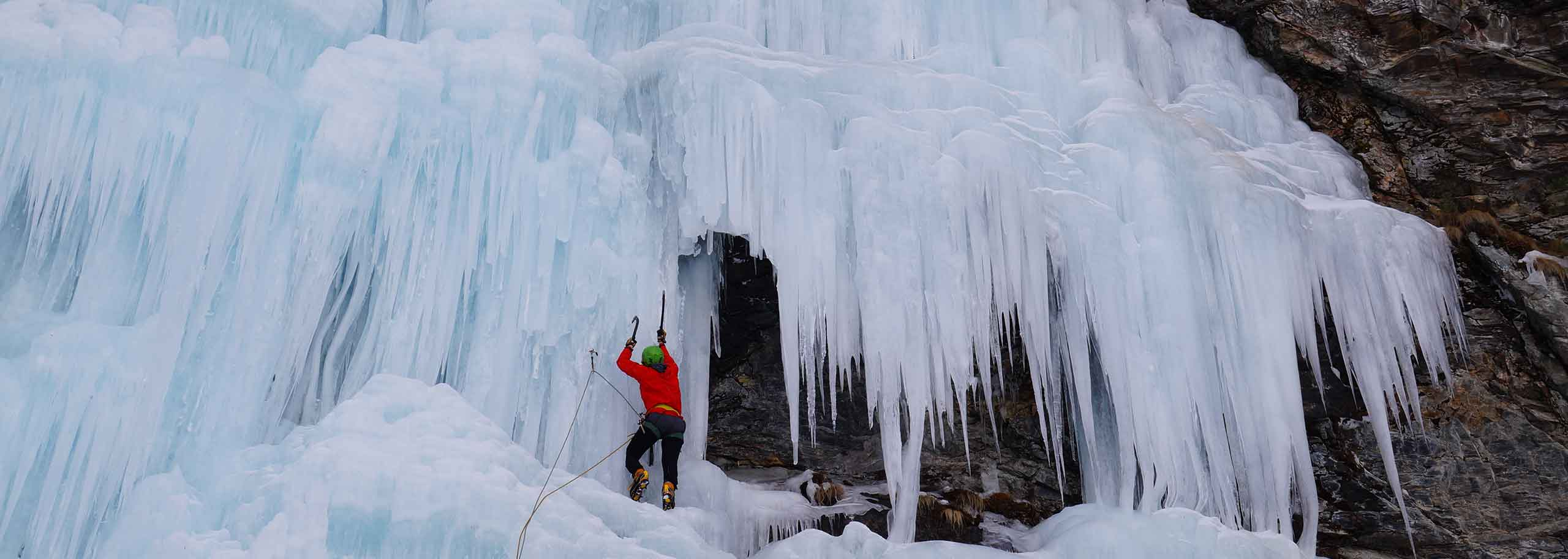 Ice Climbing with a Mountain Guide in Alta Pusteria