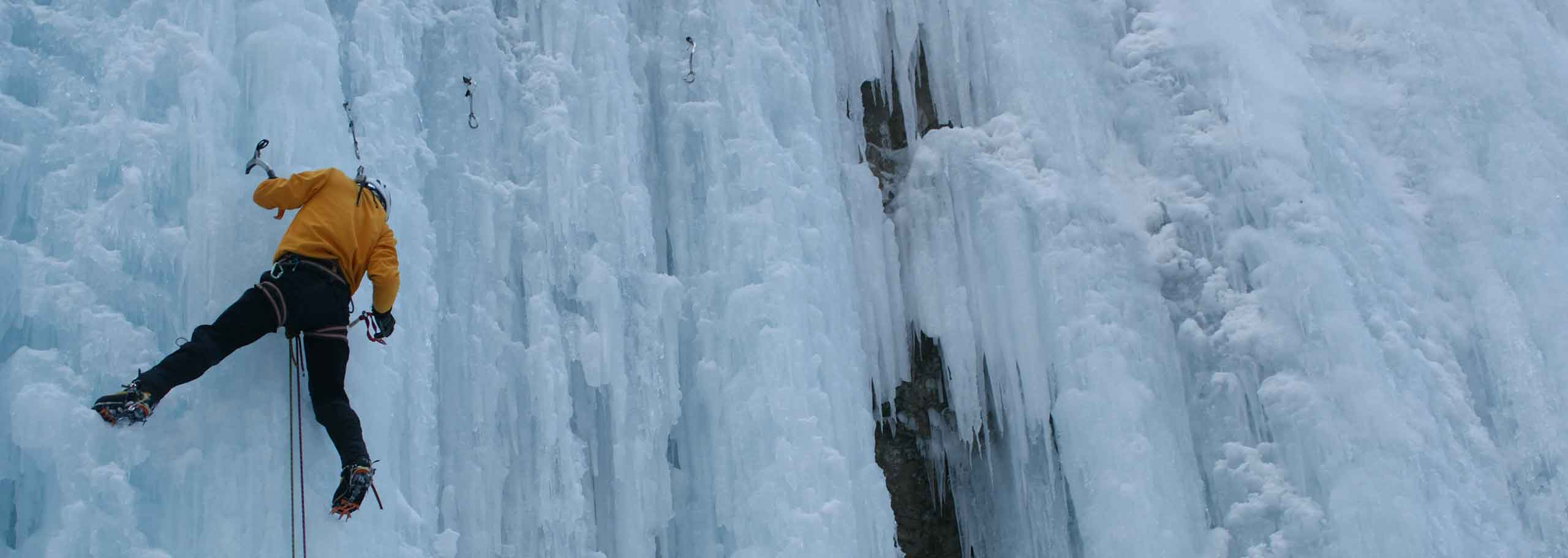 Ice Climbing with a Mountain Guide in San Martino di Castrozza