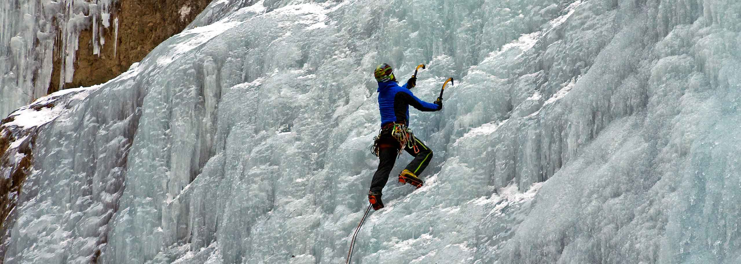 Ice Climbing with a Mountain Guide in Val di Zoldo