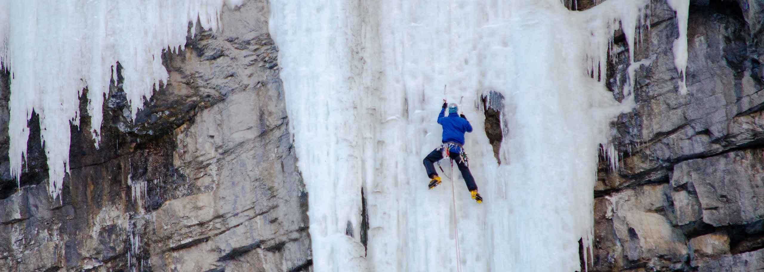 Ice Climbing in Cogne with a Mountain Guide